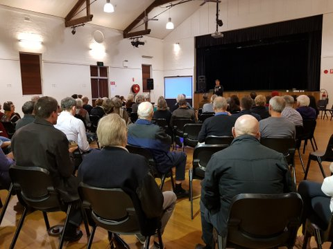 'A night of action on renewables' shows keen community interest