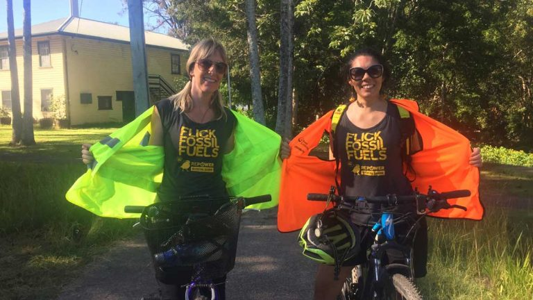 FFPA Winner: Cycling to weekly exercise class